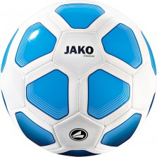 Trainingsbal Striker (32 p./machinegenaaid) wit-blauw-marine